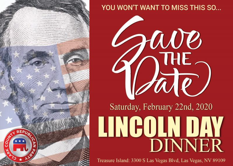 LIncoln Day Dinner on 2-22-20